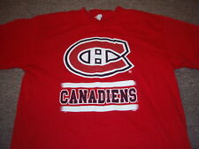 LIGHTLY WORN NHL MONTREAL CANADIENS T-SHIRT SIZE L