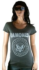 AMPLIFIED RAMONES Hey Ho Let's Go Rock Star Vintage Designer ViP WoW T-Shirt g.S