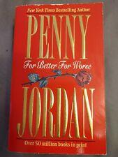 Penny Jordan For Better For Worse Paperback B2G1