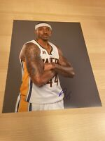 Jeff Teague Hawks Pacers Timberwolves Autographed Signed 8X10 Photo W/COA
