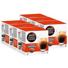 Nescafé Dolce Gusto Caffè Lungo Decaffeinato, (Pack of 6, 6 x 16 )Capsules