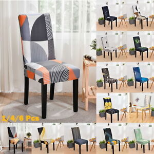 Washable Chair Cover Removable Ceremony Hotel Dining Kitchen Room Slipcover NEW