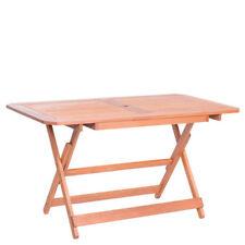 Tavolo in legno pieghevole giardino tavoli richiudibili pieghevoli 135x75x73 cm
