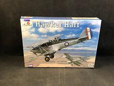 Amodel Hawker Hart British Biplane Bomber 1:72 Scale Plastic Model Kit 72240 NIB