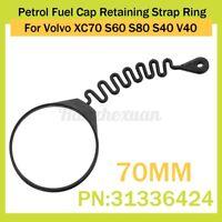 70mm Petrol Fuel Cap Retaining Strap Ring For Volvo XC70 S60 S80 S40  Y