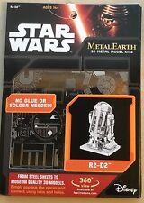 R2D2 Metal Earth 3D Metal Model Kit