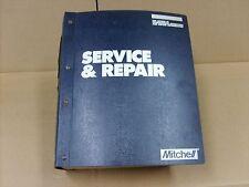 Mitchell 1990 Engine Performance Service & Repair Manual Import car Trucks Vans