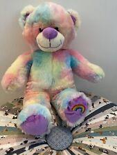 Rainbow Bear Plush Cuddly Toy