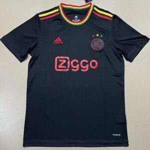2021/22 Ajax Third Kit Black Fans Edition Football Kit ALL SIZES