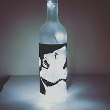 Freddie Mercury Queen Bottle Lamp