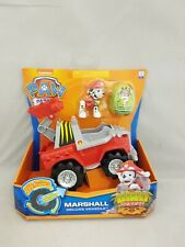 Paw Patrol Dino Rescue Deluxe Vehicle with Pup Marshall New