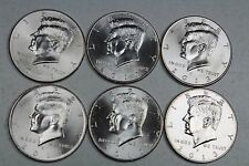 2011 2012 2013  P & D Uncirculated Kennedy Half Dollar Set from Mint Rolls