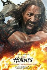Hercules DOUBLE SIDED ORIGINAL MOVIE POSTER Dwayne Johnson One Sheet cool action