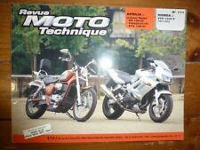 VTR1000 RS125 ETX Revue Technique moto Aprilia Honda Etat - Bon Etat Occasion