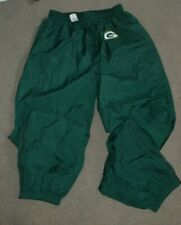 NWT Vtg Green Bay Packers Champion Warm Up Track Pants XL