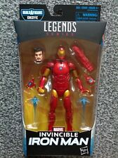Marvel Legends Black Panther Wave 1 Okoye BAF Series INVINCIBLE IRON MAN FIGURE