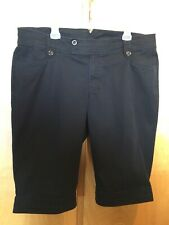Women's VENEZIA CAPRIS/Long Shorts BLACK Size 20 EUC