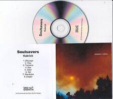 SOULSAVERS KUBRICK RARE 8 TRACK PROMO CD