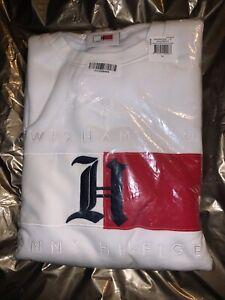 Tommy Hilfiger Lewis Hamilton Flag Logo White Sweatshirt XL Tommy X LEWIS BNTW
