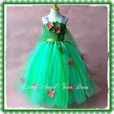 Disney Insp Frozen Elsa Fever Green Tutu Dress, Fancy Dress. Halloween Costume