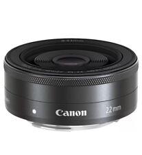 Canon EF M 22mm f/2.0 STM Pancake Lens.