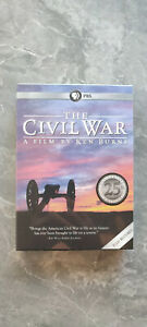 The Civil War A Film Directed By Ken Burns 6-Disc Set New Factory Sealed Sale
