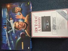 Star Trek How To Host A Mystery Game - Next Generation: First Edition