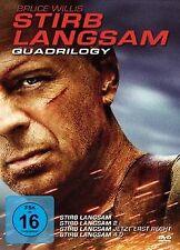Stirb Langsam - Quadrilogy 1-4 (4 DVDs) von Len Wiseman | DVD | Zustand gut