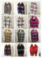 Wholesale 12pcs 100 Cashmere Scarf Made in Scotland Plaid Design Lot 1