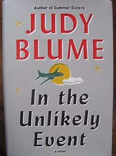 Judy Blume - Signed - In the Unlikely Event (1st, 1st, Hardcover, 2015)