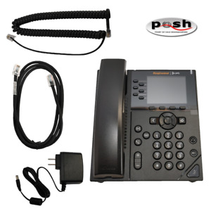 NEW Ring Central Polycom VVX 350 Business IP Phone - PN: 2314-48830-001