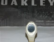 10-093 Vintage Oakley D.5 D5 Watch Digital LCD Sand/Silver Never Used