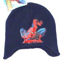 Marvel The Amazing Spider-Man Boy's Ear Flap Beanie Hat OSFM NWT