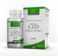 Mindful Matter 5-HTP | 400mg Griffonia Seed Extract | Sleep Aid & Mood Enhancer