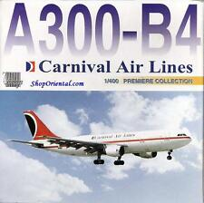 DRAGON WINGS CARNIVAL AIRLINES A300 B4-203 1:400 Diecast Civil Plane Model 55276