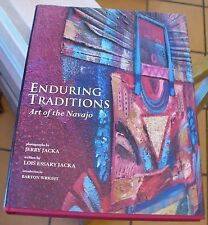 New listing Enduring Traditions Art of The Navajo Native American Jacka Illustrated Color!