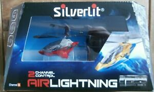 Silverlit Airlightning Remote Control Helicopter (2 Channel Control) Age 10+