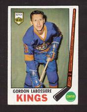 Gordon Labossiere Los Angeles Kings 1969-70 Topps Hockey Card #109 EX/MT- NM