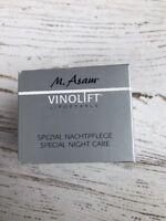 M. ASAM VINOLIFT SPECIAL NIGHT CARE ••JUMBO SIZE•• 1.69 Oz 50 ML :)