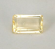 TOP HELIODOR : 3,44 Ct Natürlicher Heliodor ( Gold Beryll ) aus Brasilien