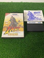 Original Sega Master System Spiel-Indiana Jones Indy-komplett-getestet