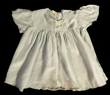 Vintage 1950s? Chaperon Rouge ENRG Size 1 (12m) Blue Silk Baby Dress Doll