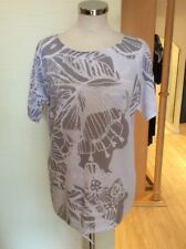 Bianca Top Size 10 BNWT White Grey Silver RRP £89.95 Now £39