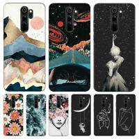 For Xiaomi Redmi Note 8 7 Pro 8A Slim Painted Silicone Matte Soft TPU Case Cover