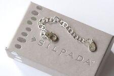 "Silpada NIB 3"" Necklace Bracelet Ankle Sterling Silver Extender N2714"