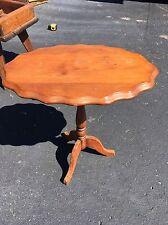 Antique Tilt Top Wine Table
