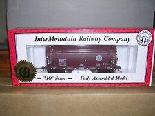 """INTER.#46500  B.N.S.F.""""Small Logo"""" ACF C.F. 2-Bay Cov.Hopper Car #405533 H.O."""