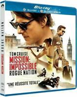 MISSION IMPOSSIBLE 5 Rogue nation COFFRET 2 BLU RAY NEUF SOUS BLISTER