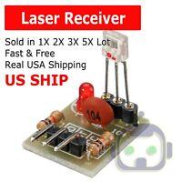 For Arduino Laser Receiver Transmitter Sensor Module Board non-modulator Tube