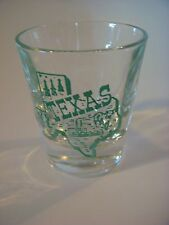 Liquor Shot Glass <> TEXAS <> See STORE For 100s More Gift Ideas, Collectibles +